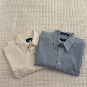 Long Sleeve Button Up Shirt Bundle 16.5 and 16